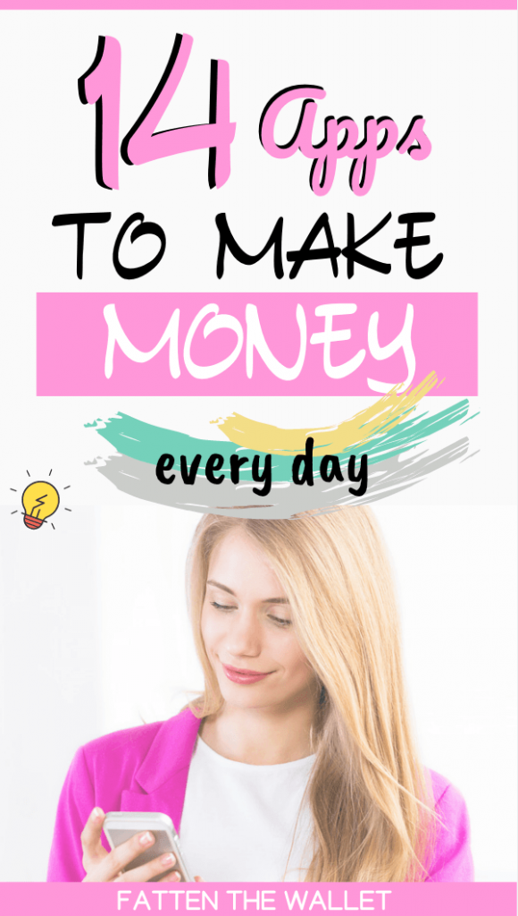 make extra money every day with these apps #extramoney #sidehustles #fattenthewallet
